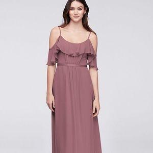 David's bridal bridesmaid dress in *QUARTZ*